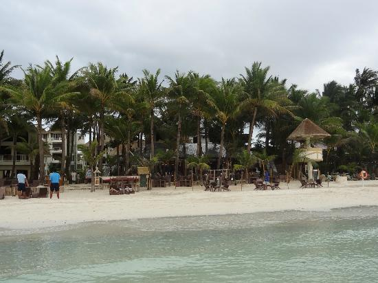 Ambassador in Paradise Resort: Hotel and Beach from Water