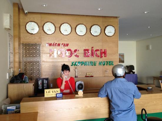 Sophia Sky Hotel: Sapphire Hotel Nha Trang Lobby