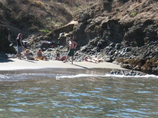 Paddle Sports Center: Secluded beach can hike to.