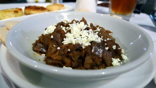 Sauce: Eggplant and feta