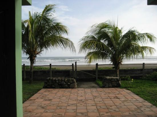 Popoyo Beach Lodge: View from the porch