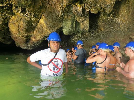 Simba Sea Trips: cave exploration