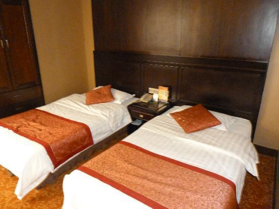 Xi'an Motel: Chambre twin