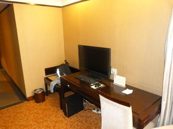 Xi'an Motel: coin bureau et télévision