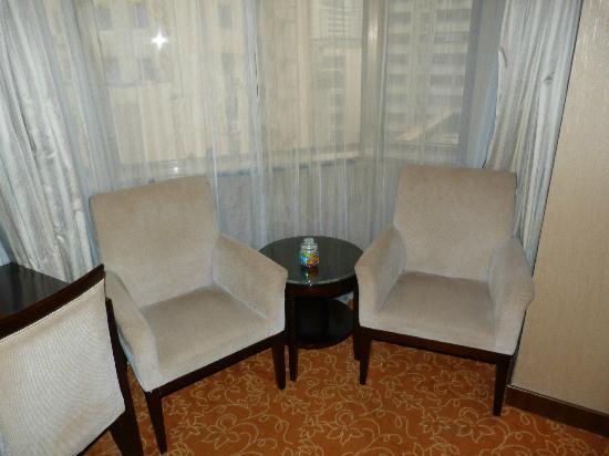 Xi'an Motel: Deux fauteuilpour une halte