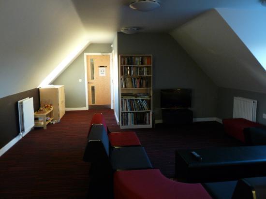 YHA Berwick: Lounge area