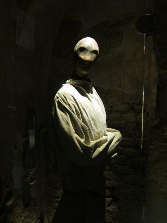straight jacket - Picture of Medieval Criminal and Torture Museum ...