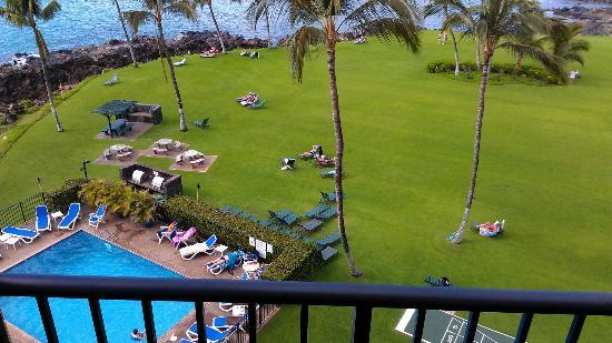 Kihei Surfside: view from 607