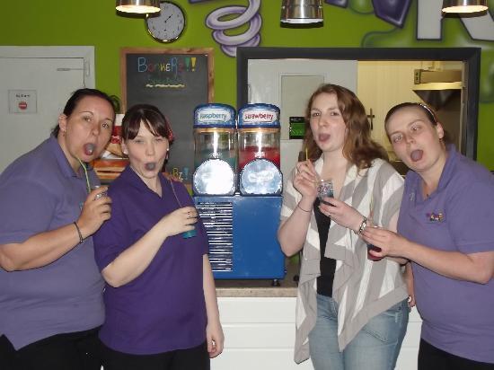 Bonkerz Fun Centre: Our new Slush machine :)