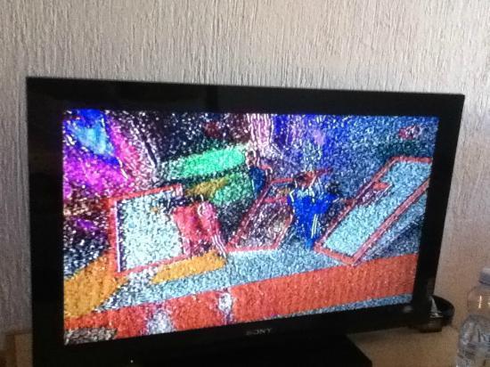 سيفيلا بالاس هوتل: mala calidad de señal de tv