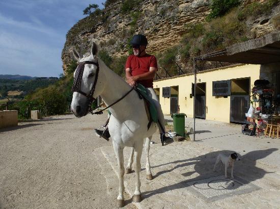 Molino del Santo: Local Horse Riding