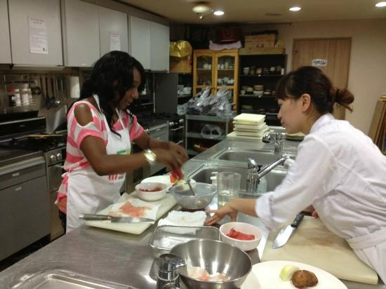 Food & Culture Academy : Preparing the meat