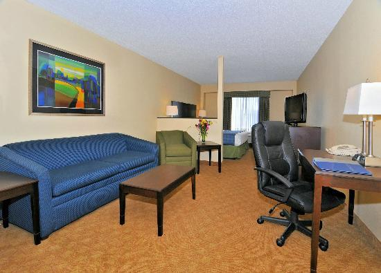 Best Western Plus Waynesboro Inn & Suites Conference Center: Suite with King Bed