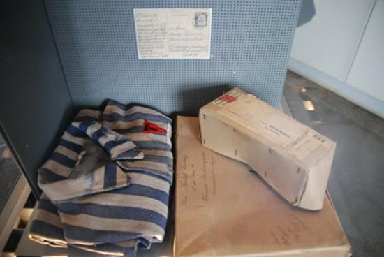 Buchenwald: prisoners' uniform & belongings