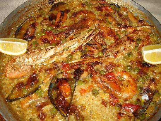Sucoa: paella marinera