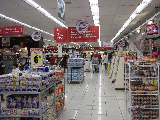 Magdalen House: Modern supermarket in Wong Department Store in nearby mall.