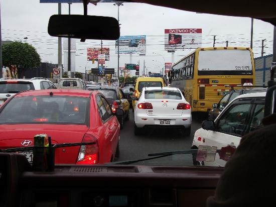 Magdalen House: Traffic in Lima