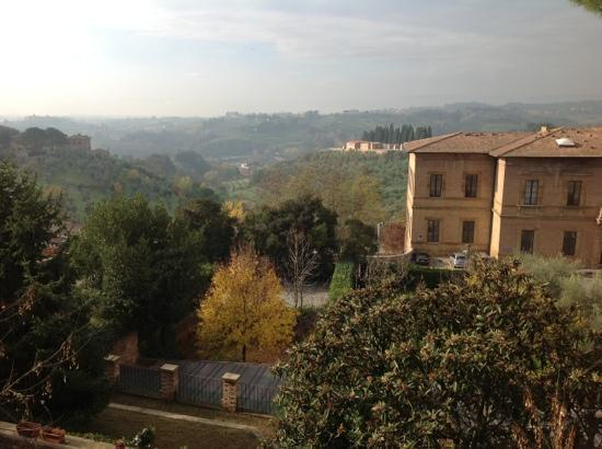 Residenza d'Epoca Palazzo Fineschi Sergardi: View in the morning!