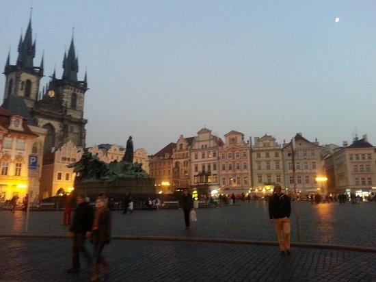 Grand Hotel Bohemia: plaza