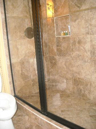 Legacy Lodge: Shower in guest room