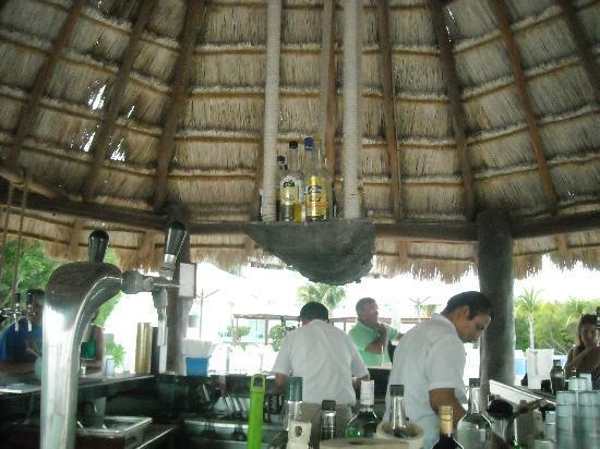 بلو بي جراند إيزميرلاد أول إنكلوسيف: bar de la plage
