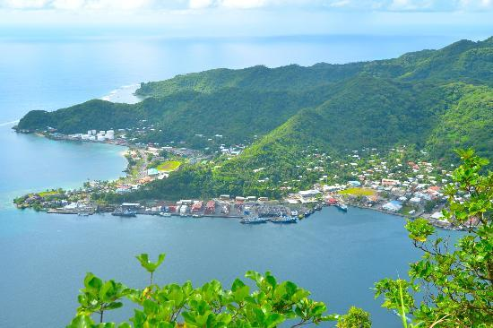 Sadie's by the Sea: View of Pago Pago