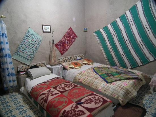 Auberge Camping Ocean Des Dunes: Une des chambres, très confortable.