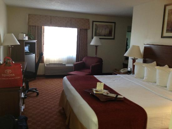 Best Western Lakewood Inn: Junior Suite