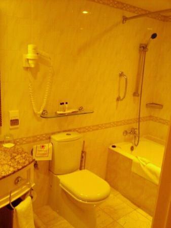 Armenia Marriott Hotel Yerevan: bathroom!