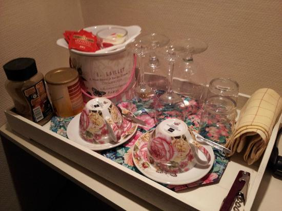 Absoluut Verhulst: Tea/Coffee making facilities in room