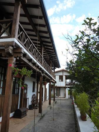 Hosteria La Quinta: zona de entrada