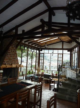 Hosteria La Quinta: comedor