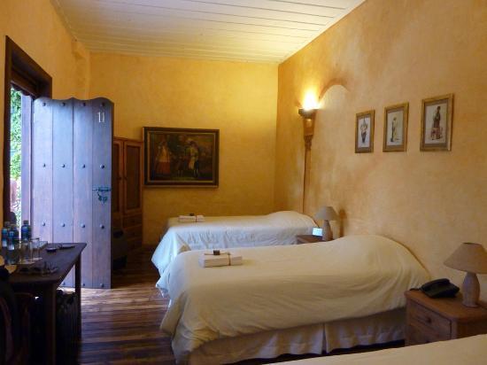 Hotel Casa del Aguila: nuestra habitación