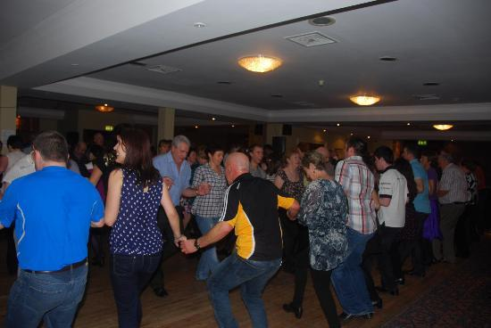 Torc Hotel: some of the dancers enjoying the ceili on Sunday afternoon