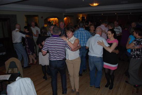 Torc Hotel: set dancers at the Friday night Ceili
