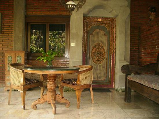 Ananda Cottages: terrasse de la chambre