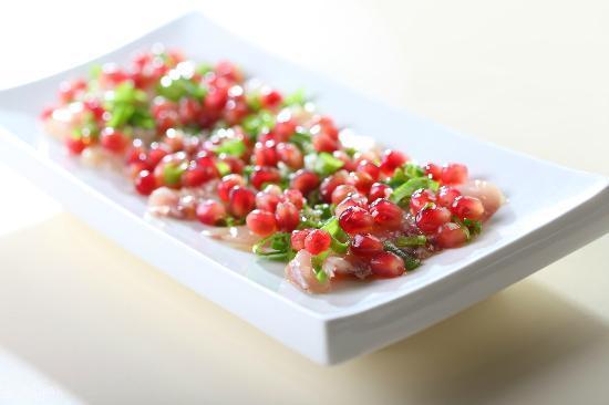 al hamayim: Wilde sea bass ceviche