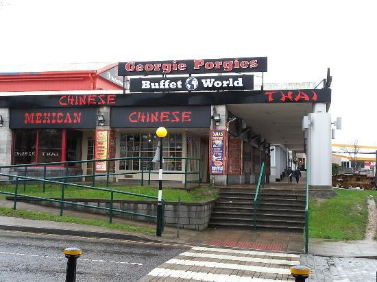 Georgie Porgies Buffet World: Entrance