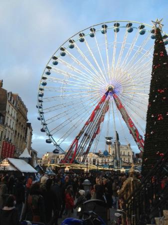 Hotel Art Deco Euralille: La grande roue et le marché de Noël Lille 25 Novembre 2012