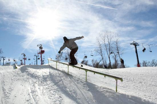 Snow Creek: Terrain Park Fun
