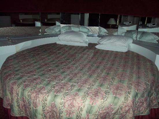 Cove Haven Resort: The bed...