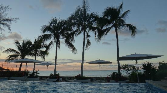 Mont Choisy: La piscine