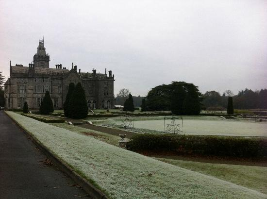 Adare Manor Hotel & Golf Resort: Icey Morning View