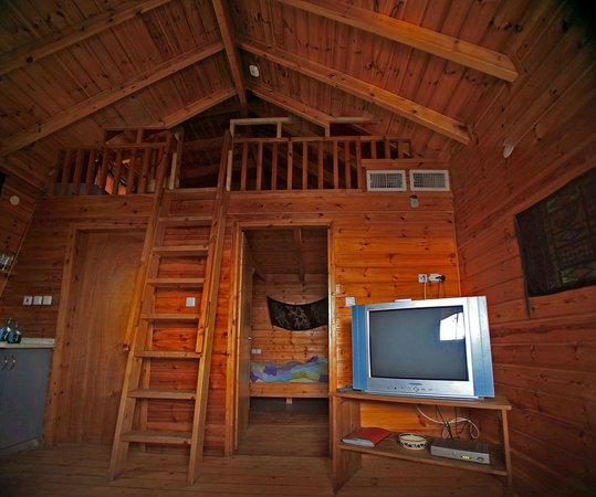 Belfer's Dead Sea Cabins:                   Belfer Cabin with Sleeping Loft