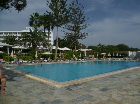 Nissi Beach Resort: Nissi Beach pool - good size and water aerobics every day