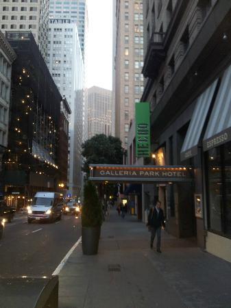 Galleria Park Hotel: Entrada