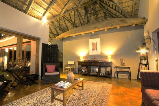 Casart Game Lodge : lounge