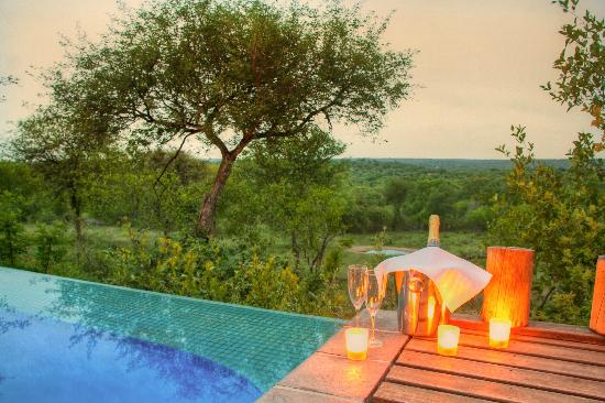 Casart Game Lodge: view from pool