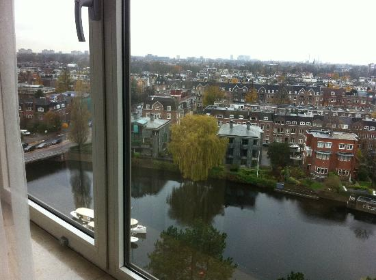 Hilton Amsterdam: View from 9th Floor