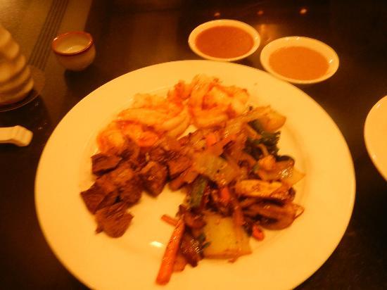Mikado: special teppanyaki